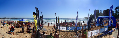 Ocean race at Manly Beach