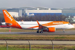 easyJet Airbus A320-251N cn 8759 F-WWII // G-UZHW