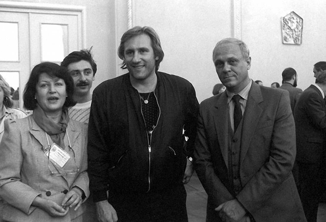 1987. Владимир Меньшов и Жерар Депардье.