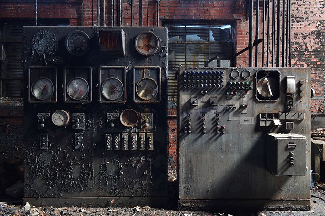 Boiler control console