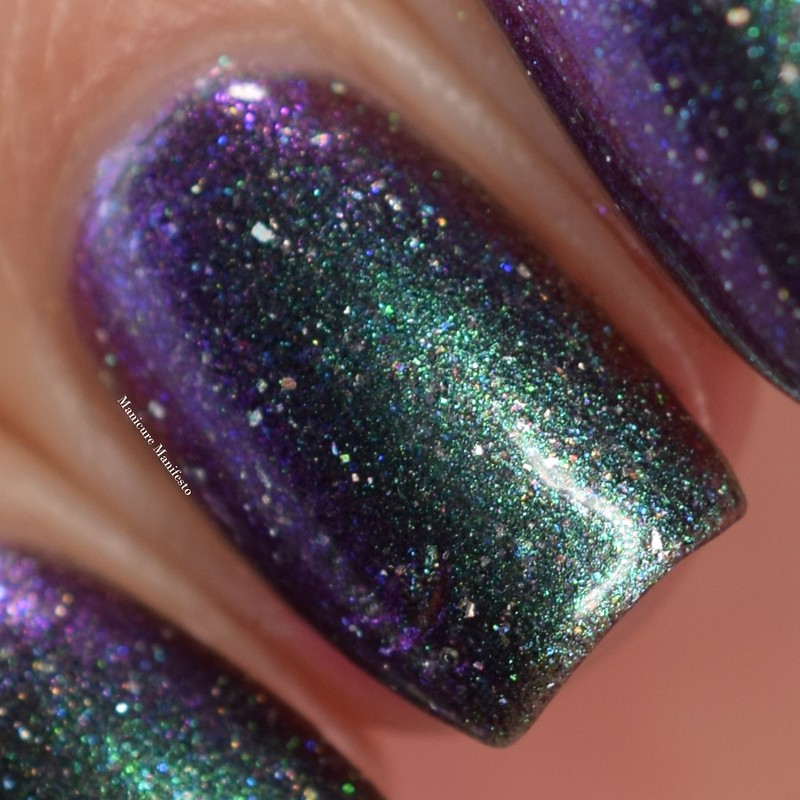 Paint It Pretty Polish Cosmic Showers Bring Space Flowers swatch