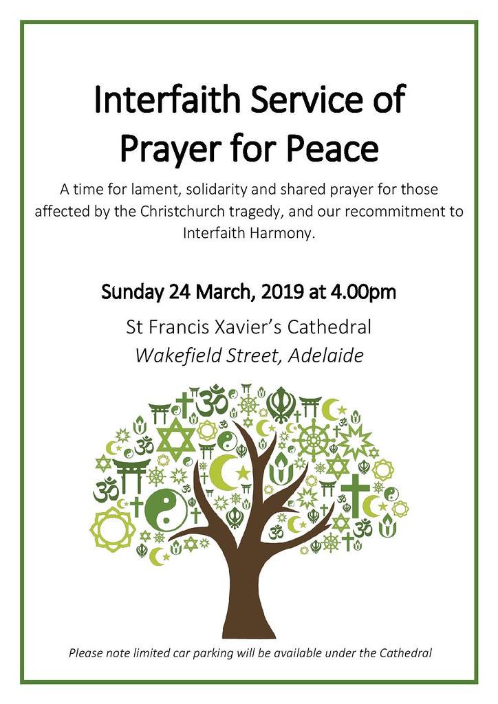 Interfaith Service of Prayer for Peace