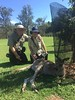 Our first kangaroo!