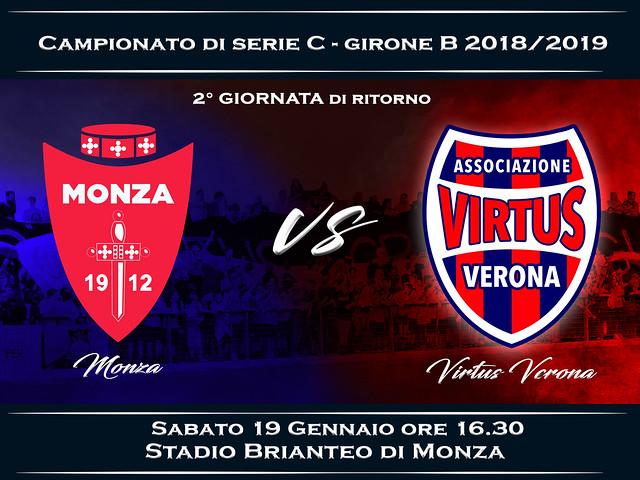 Monza - Virtus Verona 1-0 FINALE