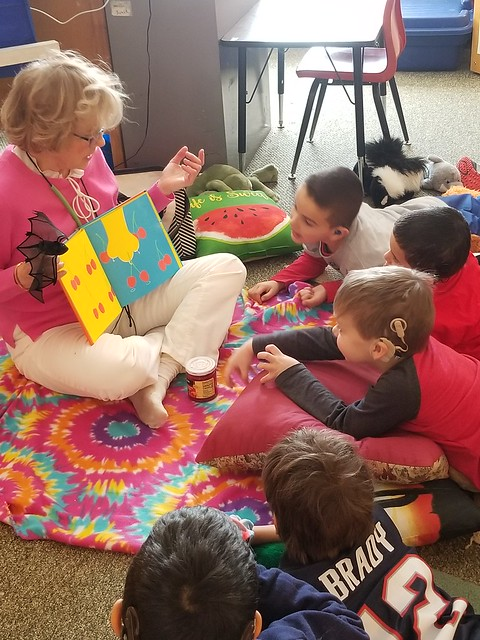 Clarke Northampton Celebrates World Read Aloud Day