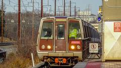 WMATA Metrorail Breda 3000 Series Railcars