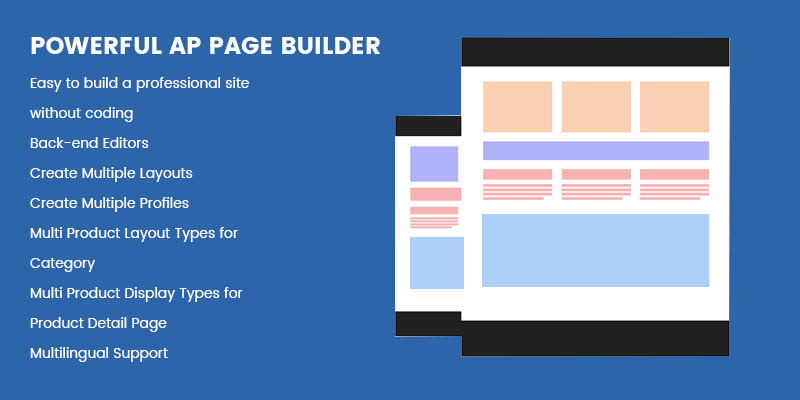 Powerful Ap Page Builder Module - leotheme Framework 4.0 for PrestaShop 1.7