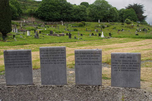 Great Famine mass grave