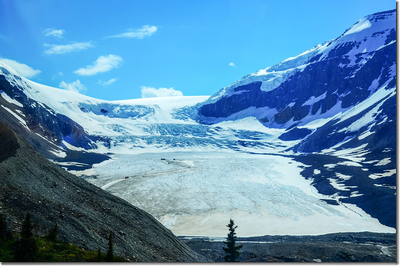 Athabasca Glacier from