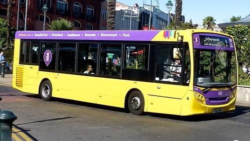 YX12 ARZ 'Yellow Buses' No. 534 'lilac 1'. Alexander Dennis Ltd. (ADL) E20D / 'ADL' Enviro 200 on Dennis Basford's railsroadsrunways.blogspot.co.uk'  70