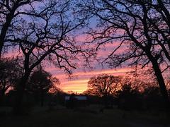 Sunset in OK