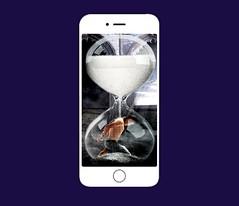 #akıllıtelefon #smartphone #internet #sosyalmedya #dijitalmedya #socialmedia #digitalmedia #bağımlılık #addiction #dependency #dependance #kumsaati #sablier #hourglass