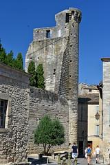 Uzes - castle tower - Photo of Uzès