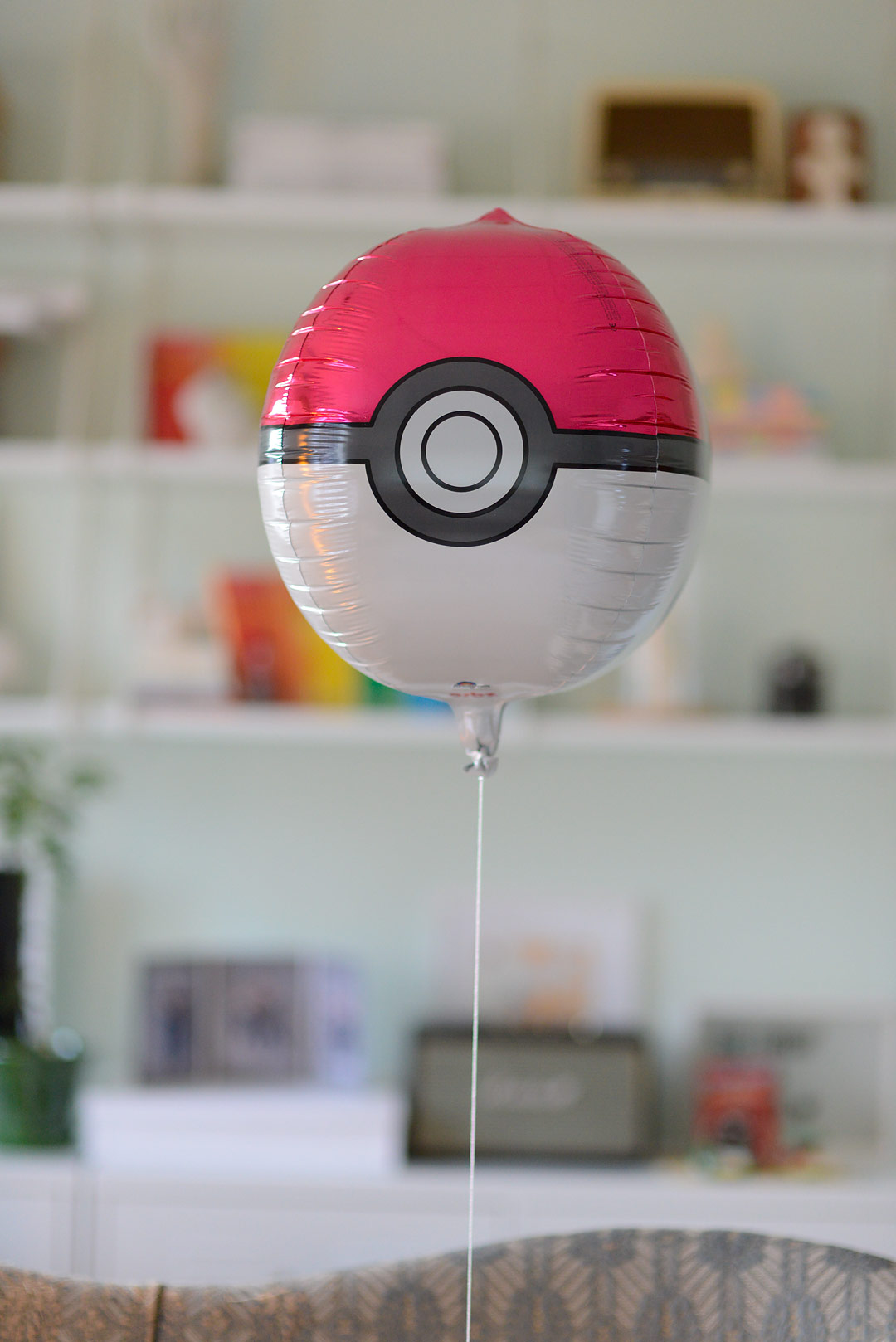 Pokemon pokeball balloon from somiana.fi