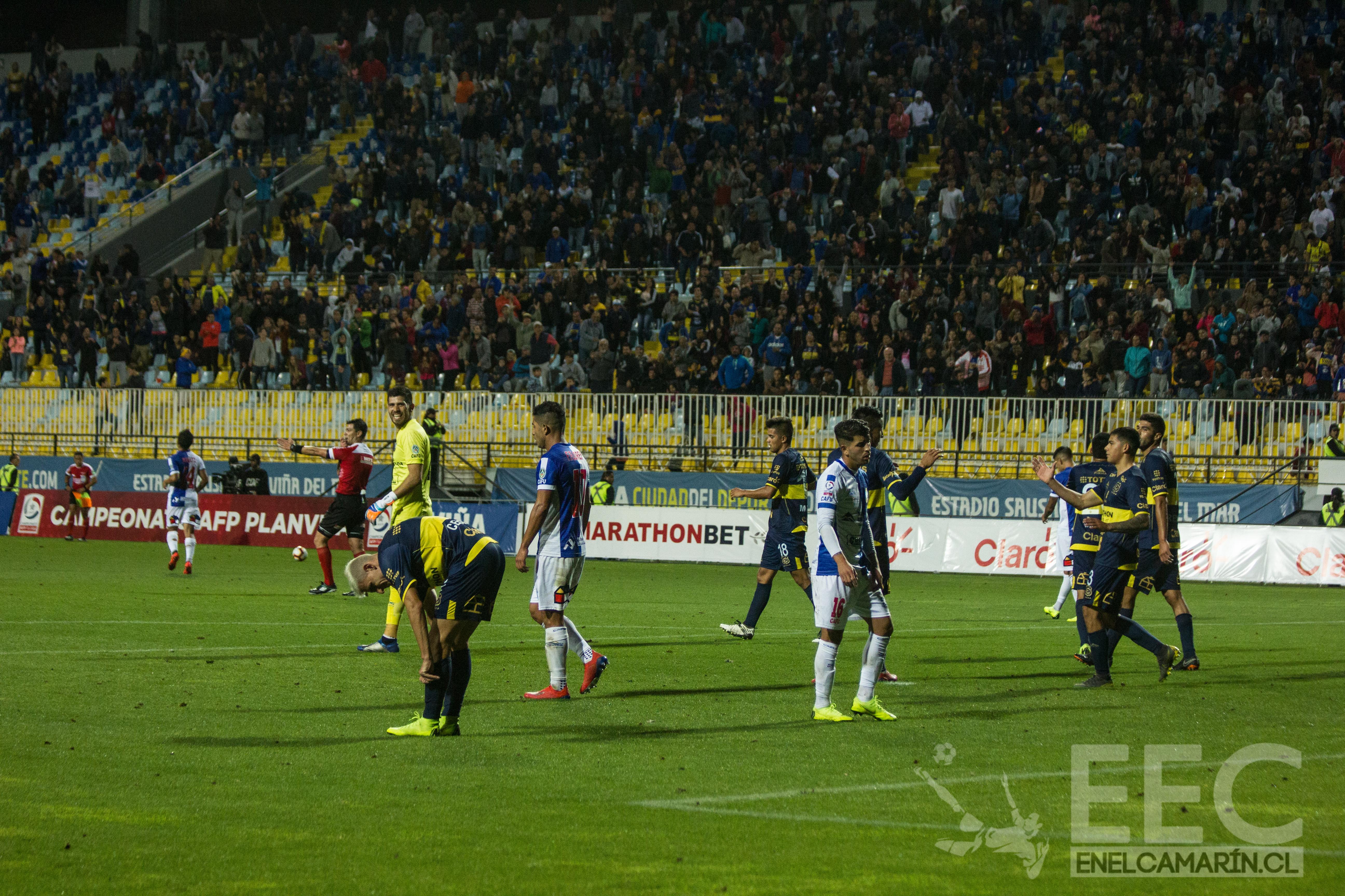 Everton 1-0 Deportes Amtofagasta