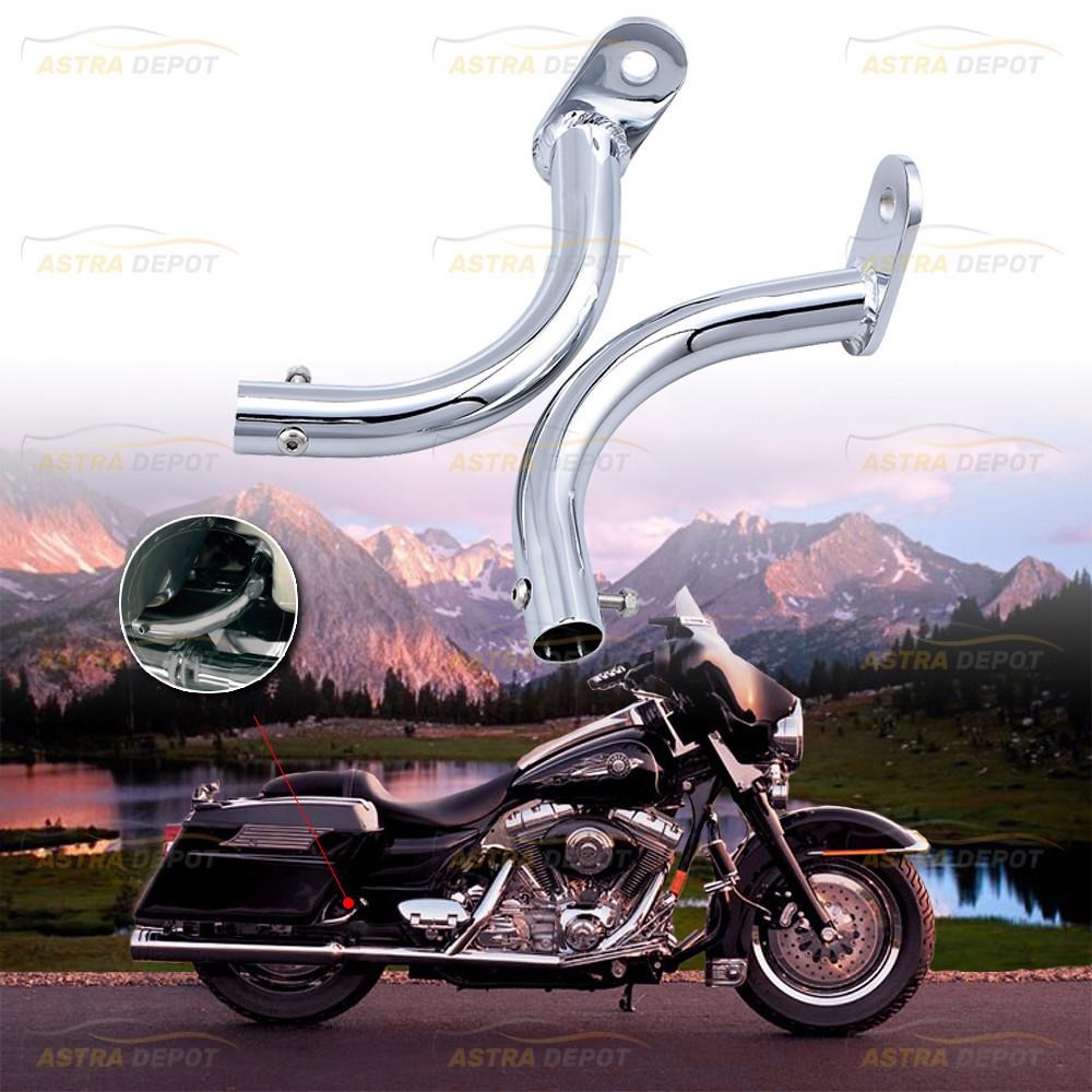 TCMT Saddlebag Guard Eliminator Support Bracket For Harley Touring FLHT Models