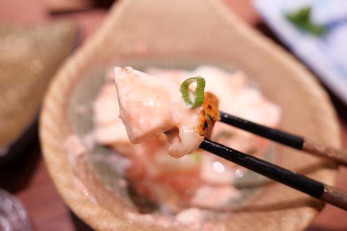 明太生クリーム焼チーズ豆腐