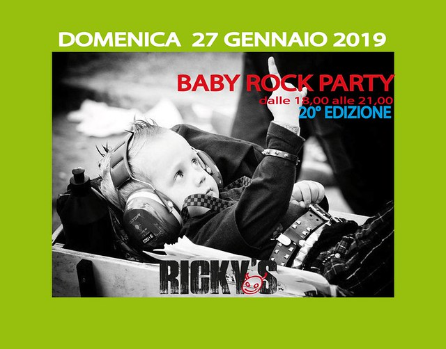 baby rock party GENNAIO 2019