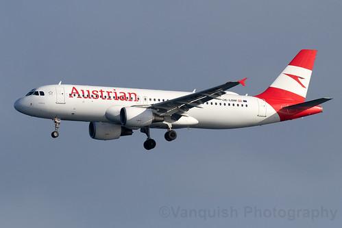 OE-LBM Austrian Airlines A320-200 Arrecife Airport Lanzarote