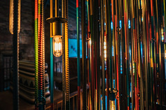 I Love this Lighting/Rebar Sculpture