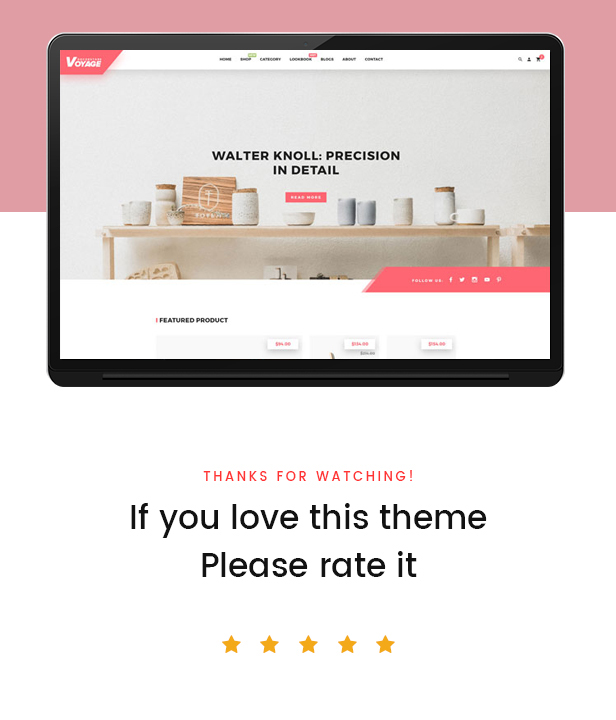 Bos Voyage Responsive Furniture & Interior Prestashop Theme - Best Review