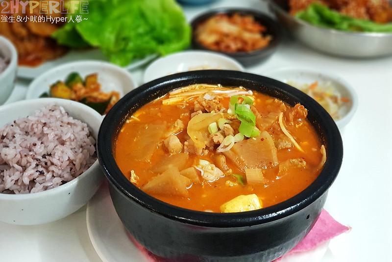 40369759463 4265afbc11 c - 韓國夫婦廚師開的韓國料理!米花停的韓式辣醬豬肉份量多肉肉控會愛,泡菜豆腐湯味道也不一般啊~