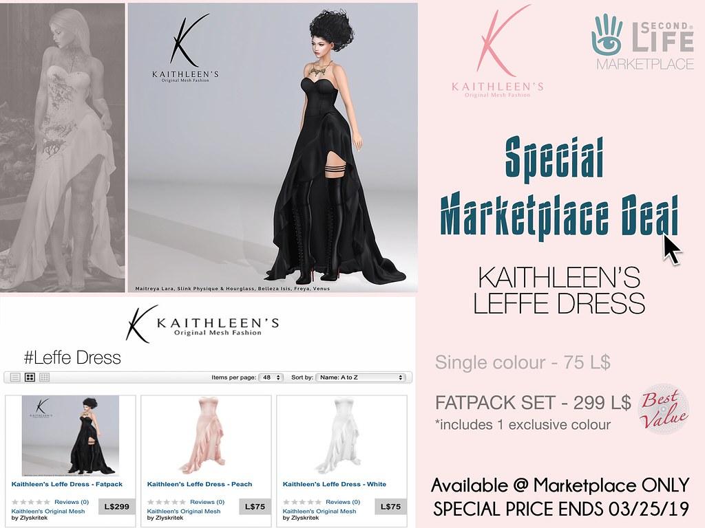 Kaithleen's Leffe Dress - TeleportHub.com Live!