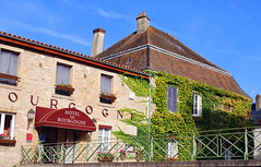 Hotel de Bourgogne, Abbaye de Cluny, Saône-et-Loire, France.