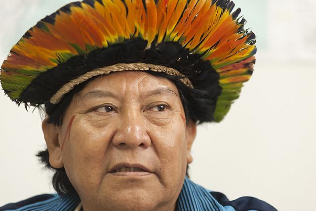 Davi Kopenawa é uma das principais lideranças indígenas do país - Créditos: Sesai | Ministério da Saúde