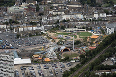 Dreamland - Aerial of Margate in Kent