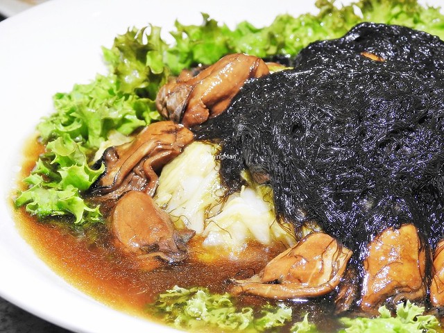 Black Moss In Tianjin Cabbage With Braised Oysters