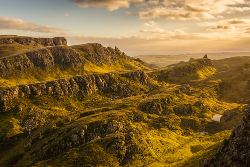 Sunrise at the Quiraing #2, Isle of Skye, Scotland [Explored]