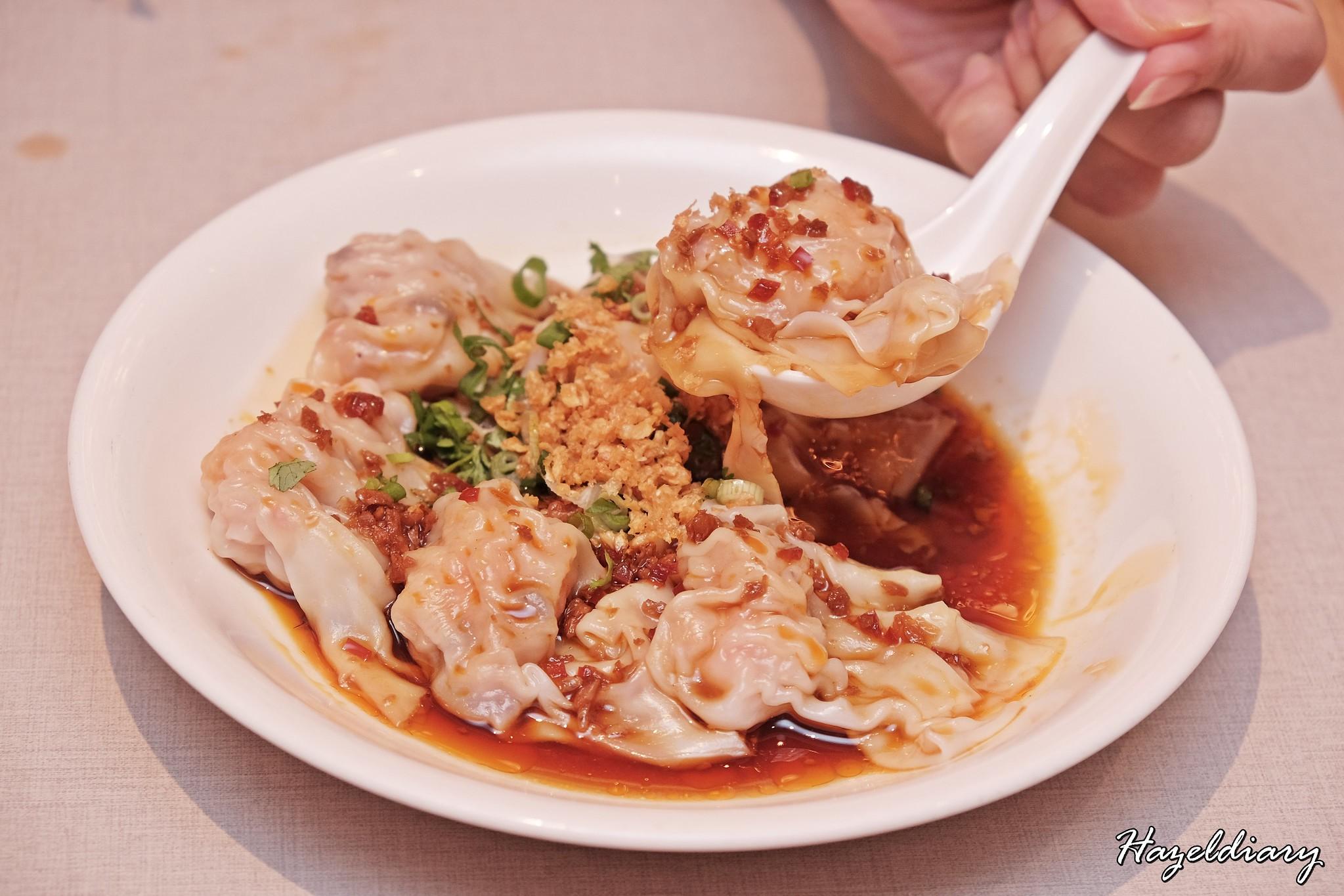 Paradise Dynasty-Prawn and Pork Dumpling in Hot Chili Vinaigrette