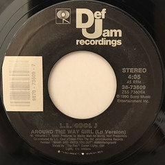 L.L. COOL J:AROUND THE WAY GIRL(LABEL SIDE-A)