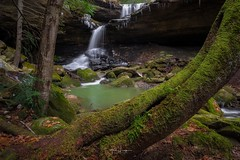 """Image by the_lowe_life (jwlowe) and image name """"McCammon Falls"""" photo  about Talk about a beautIful waterfalls hiding in plain sight. McCammon Falls located in Grey Haw City Park is a couple minute walk from the car in Jackson County. This was my first visit to this waterfall and let me tell you, a photo doesn't do this place justice! I had a great day exploring some local w"""