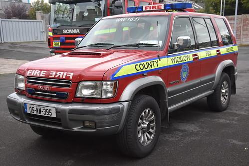 Wicklow County Fire Service 2005 Isuzu Trooper WWFRS L4V 05WW395