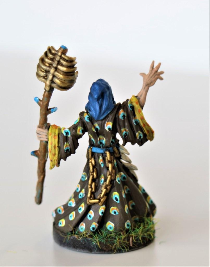 Runewars Miniatures Waiqar Peacock Necromancer