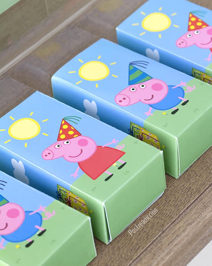 Cajas Peppa Pig