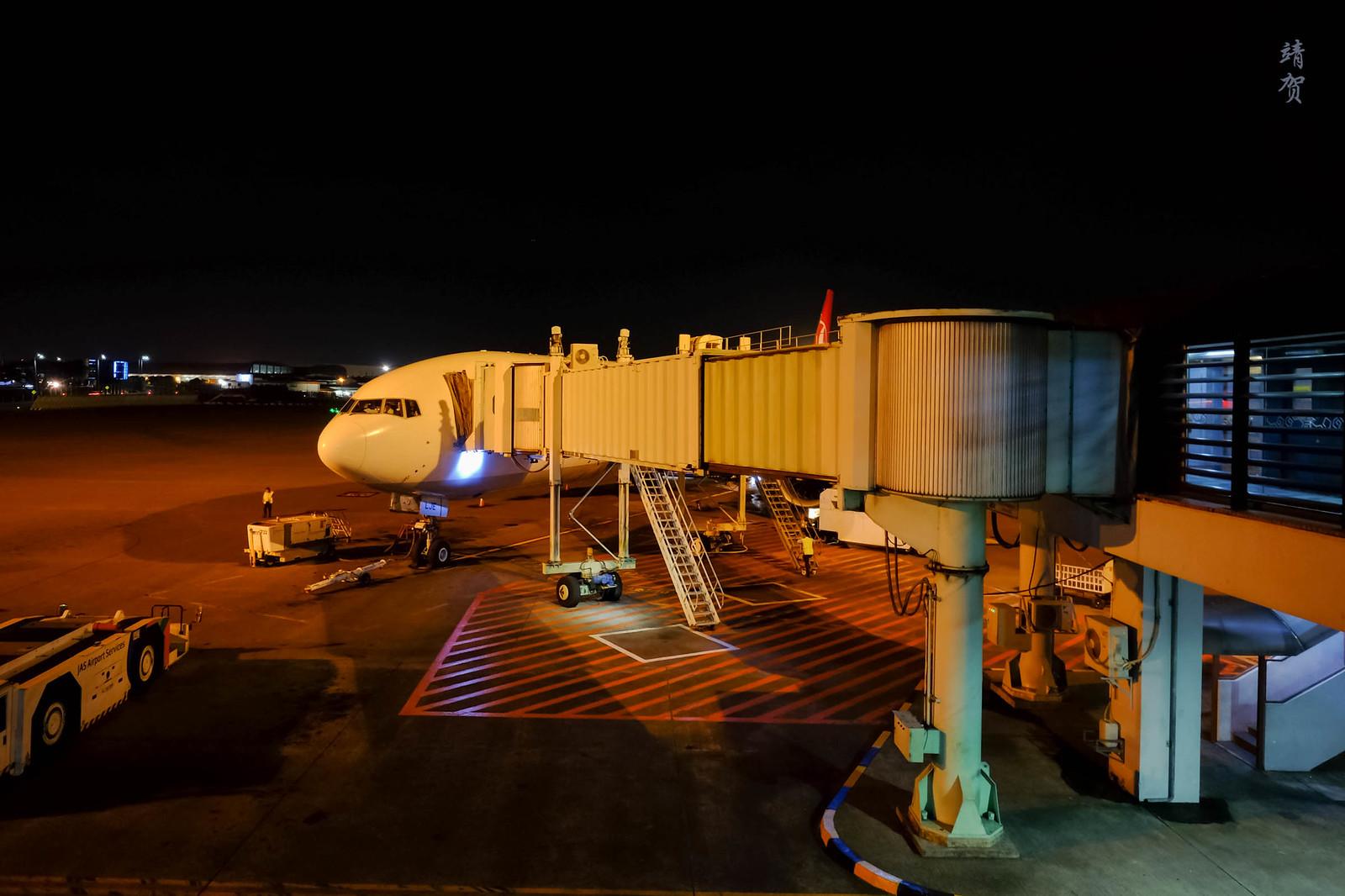 Turkish 777 at Jakarta