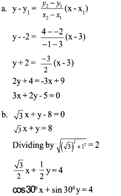 Plus One Maths Model Question Papers Paper 2A19