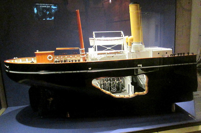 RRS Discovery, Dundee, Cut Away Model