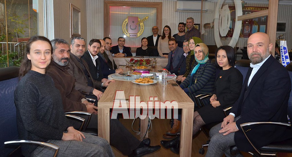 MÜSİAD'dan AGC'ye ziyaret