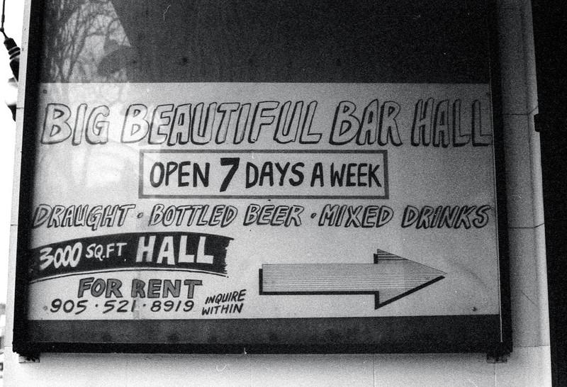 Big Beautiful Bar Hall