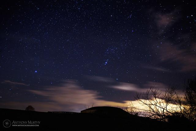Orion over Newgrange