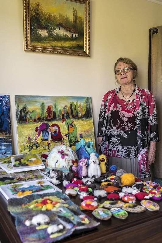 Mercedes Mora -Pintora