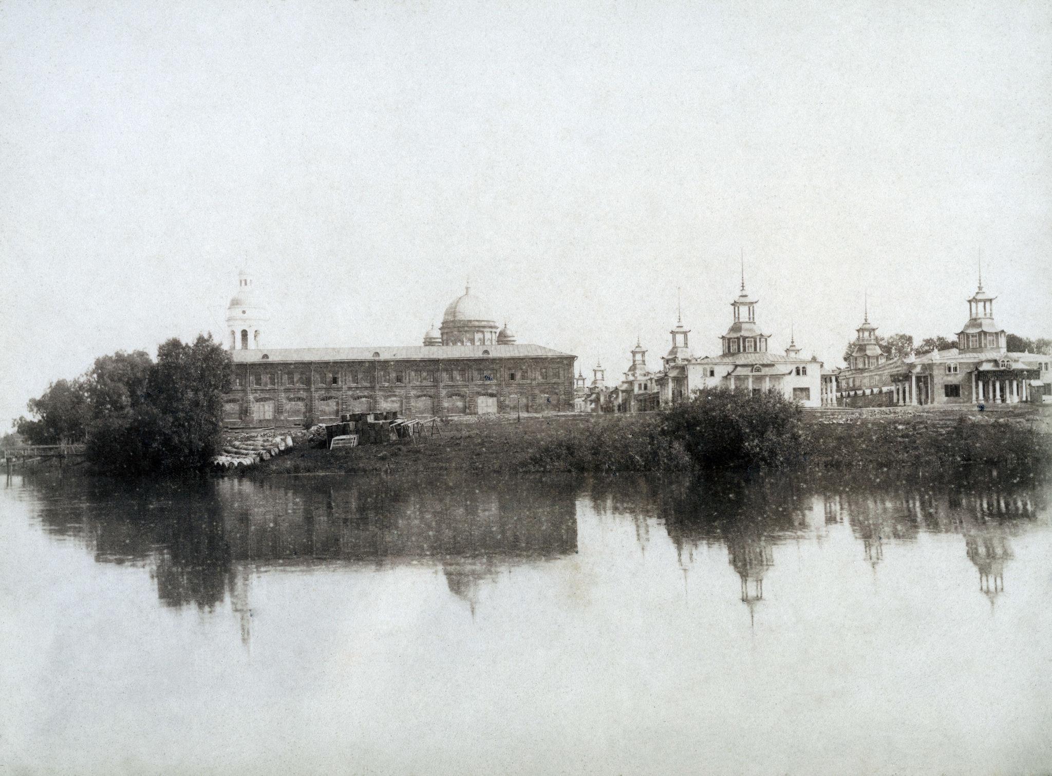 Бетанкуровский канал. Спасский Староярмарочный собор. Китайские ряды