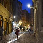 Cobbled Street in Lyon by Nina Harrup