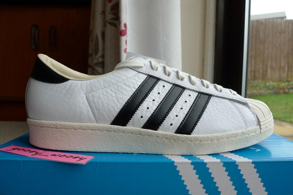 Consortium Adidas Black Superstar White 'Made In France' 3q4LcAR5j