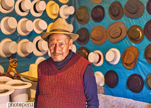 Cusco, Sombrerero de Maras