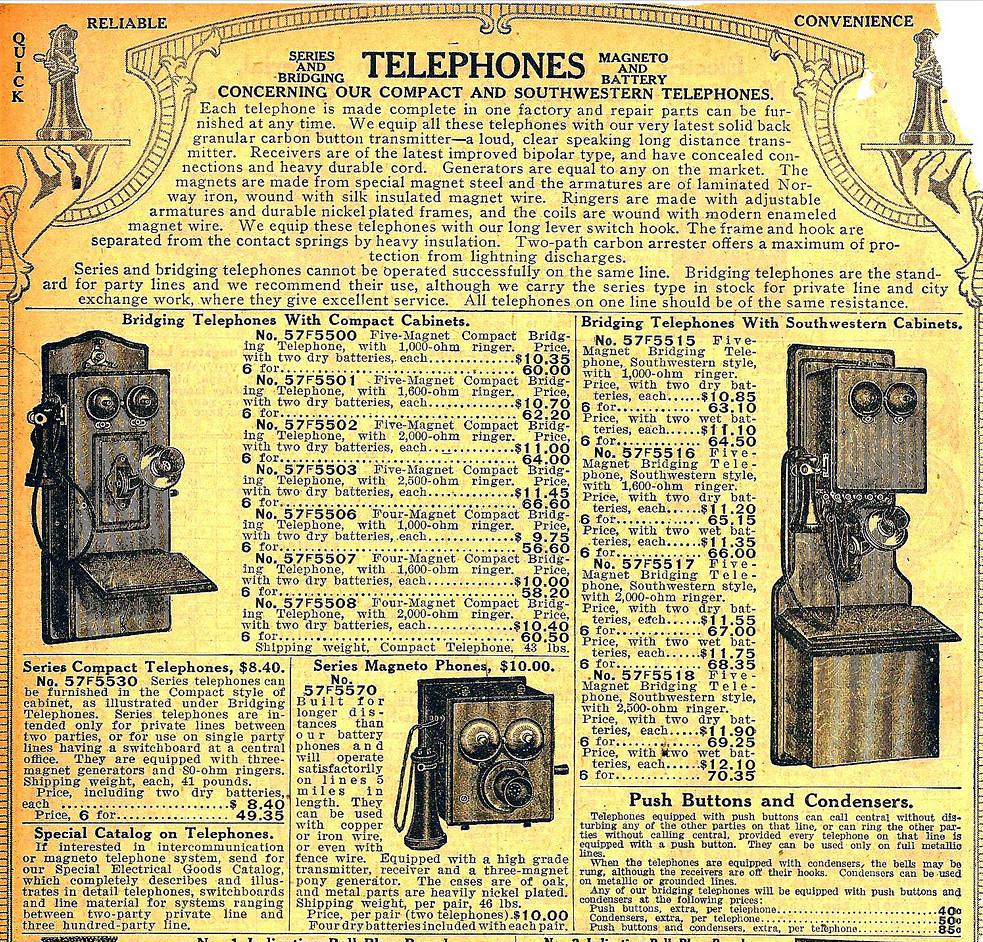 Sears Catalog 1916